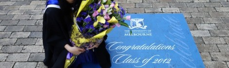 On choosing Melbourne, Australia, to study