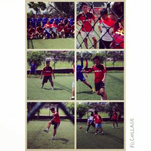 Kolase Foto Pertandingan PINTU FC