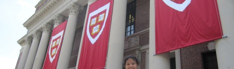 Visiting Harvard University, Cambridge, MA.