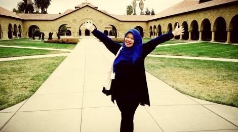 Mengajar Mata Kuliah Bahasa Indonesia di Stanford University