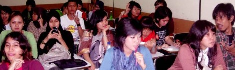 2003, a freshman at the University of Indonesia.