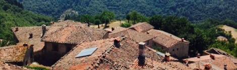 Garfagna, rural area in Toscany, Italy.