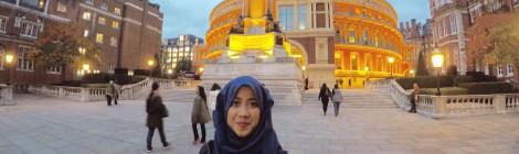 Intan's university visit