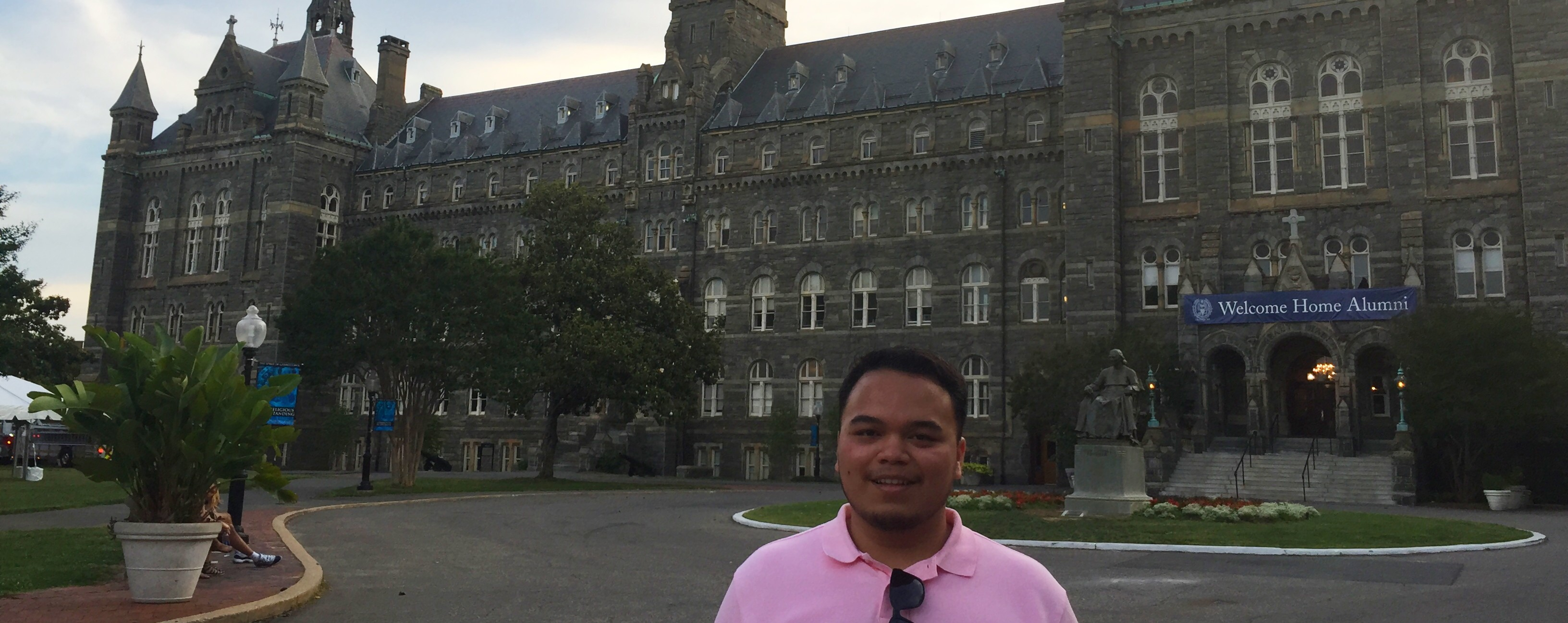 Menjalani Jalan Yang Tidak Biasa di Georgetown University, Qatar