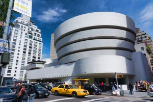 Tampak luar Solomon R Guggenheim Museum
