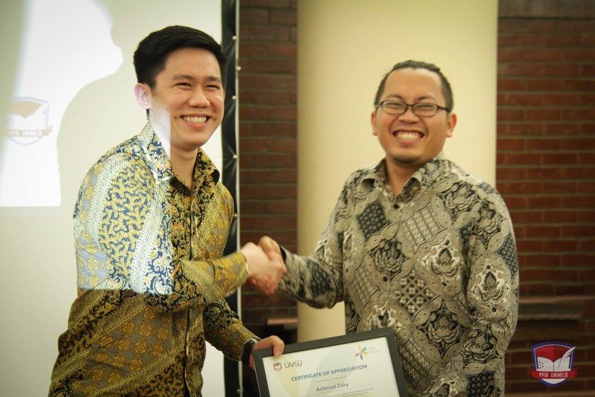 yoseph christian achmad zaky university of melbourne