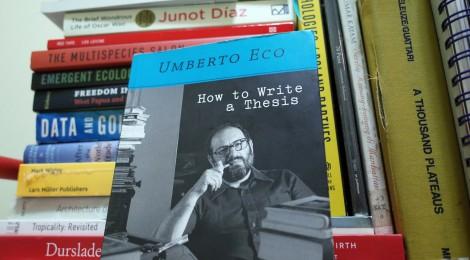 Umberto Eco dan Kiat Menulis Tesis (Bagian Pertama)