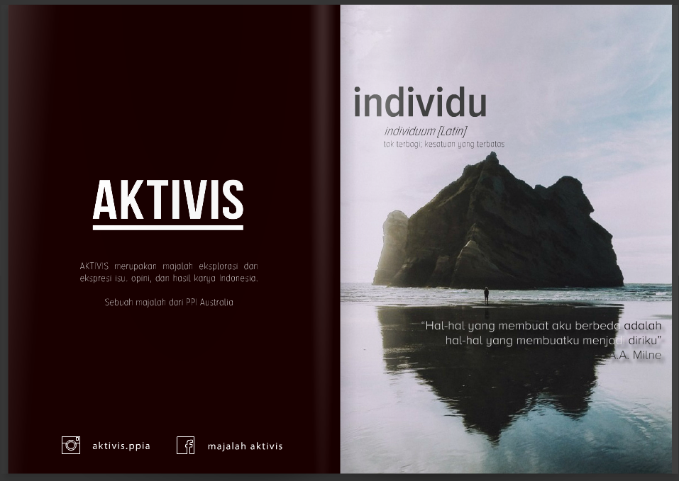 Screenshot from the AKTIVIS magazine (Credit to Majalah AKTIVIS)
