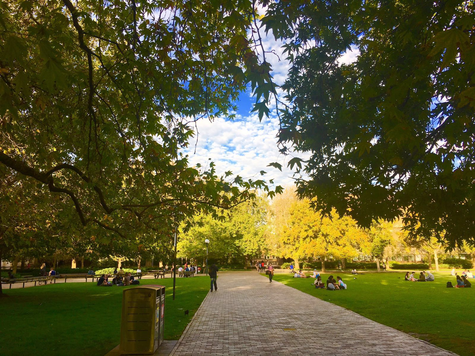 South Lawn, the University of Melbourne