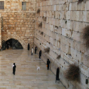 The Western Wall/ Kotel, located just outside of Haram al-Sharif is the religious site for Jewish, the closest they could get to the Second Jewish Temple (Photo Courtesy of Josefhine Chitra)