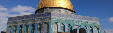 Haram al-Sharif/ Temple Mount/ The Noble Sanctuary is one of the highly disputed religious site for both Jewish and Muslim. (Photo Courtesy of Josefhine Chitra)