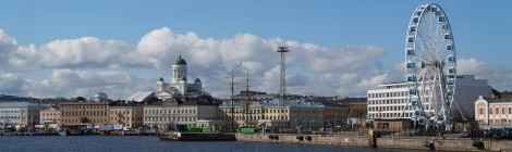 Panorama kota Helsinki (Photo Courtesy of Pixabay)