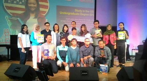 Indonesia Mengglobal's 2016 Studying in the US seminar, held at @America.