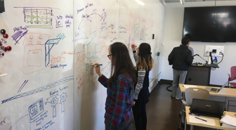 In class Ideation session for Integrated Product Development Methods class (Fall 2016)