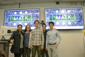 Annisa Prasetyanto, Jamie Curran, Brandon Zepeda, Ian Lee and Peter Kuo – Final presentation for Integrated Product Development Methods class (Fall 2016)