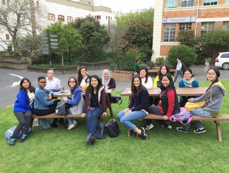 In The University of Auckland, the classes feel like home.