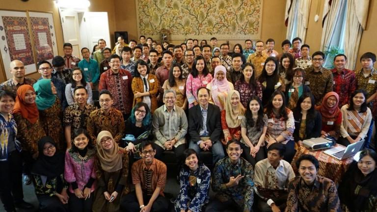 Foto PPI UK, Alanda Kariza, Ekstrakurikuler, Inggris, Kedutaan Besar Republik Indonesia
