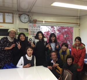 Kuliah lapangan Study of Nara di Gunung Yoshino, Nara,