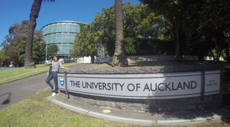 Siti Octrina, a student of University of Auckland - the top rank university in New Zealand