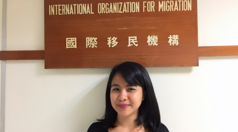 Riri's internship experience at International Organization for Migration
