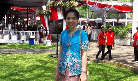 Permata Indwita Setia Putri, a Melbourne University graduate