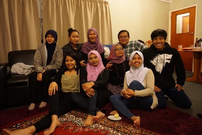 Bersama Komunitas Muslim di Wellington