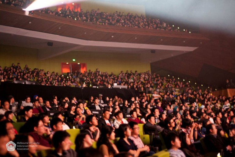 The audiences on the night of the event. It was a full house!