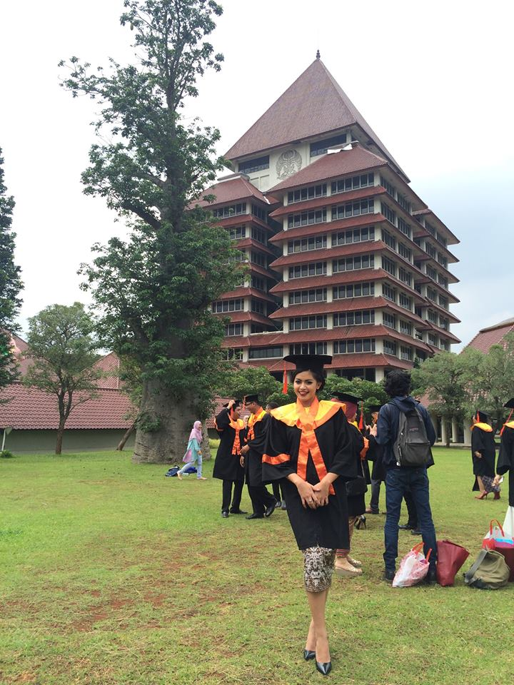 Graduation day at Universitas Indonesia