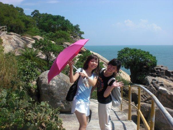 HKBU trip to Cheung Chau islands