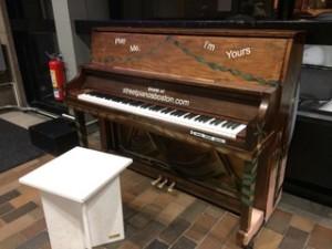 4. Street Pianos
