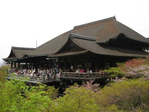Bangunan utama Kiyomizudera