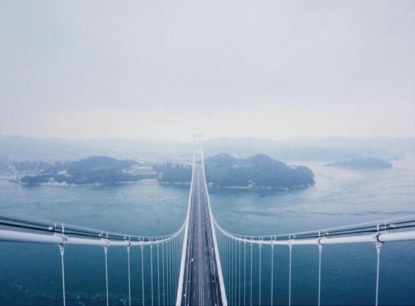 Ekskursi ke Kurushima Kaikyo Bridge