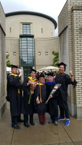 CMU Graduation With Friends