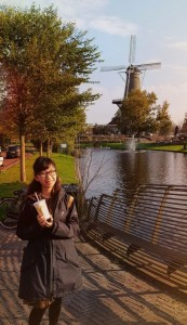 In Leiden before PPIB (Persatuan Pelajar Indonesia di Belanda) board meeting)