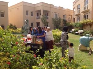 piknik di taman Oman