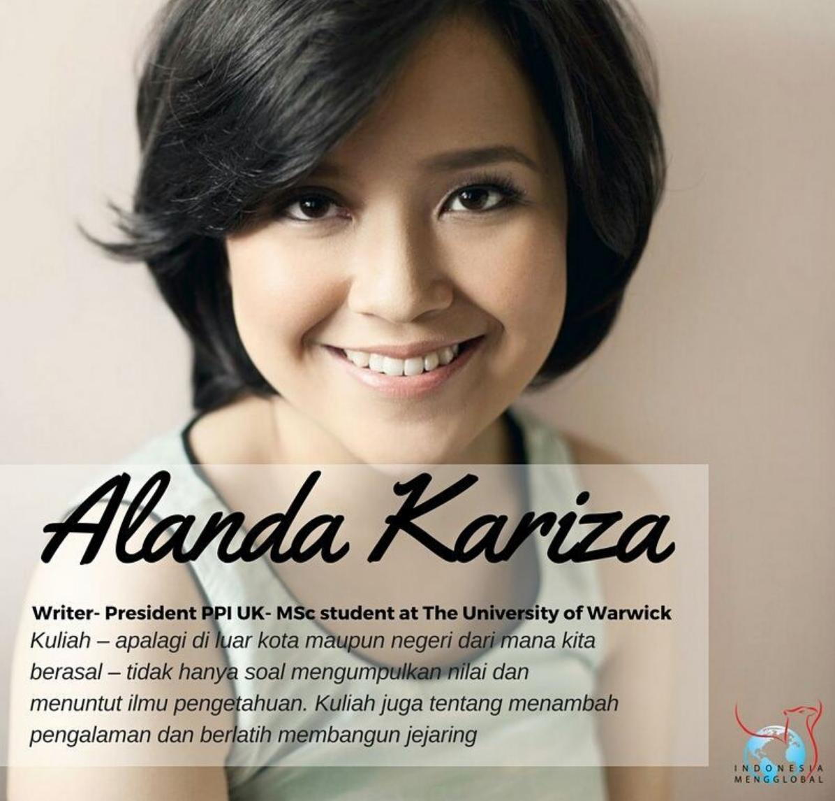 Alanda Kariza