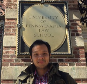 Steffen Hadi at the University of Pennsylvania Law School