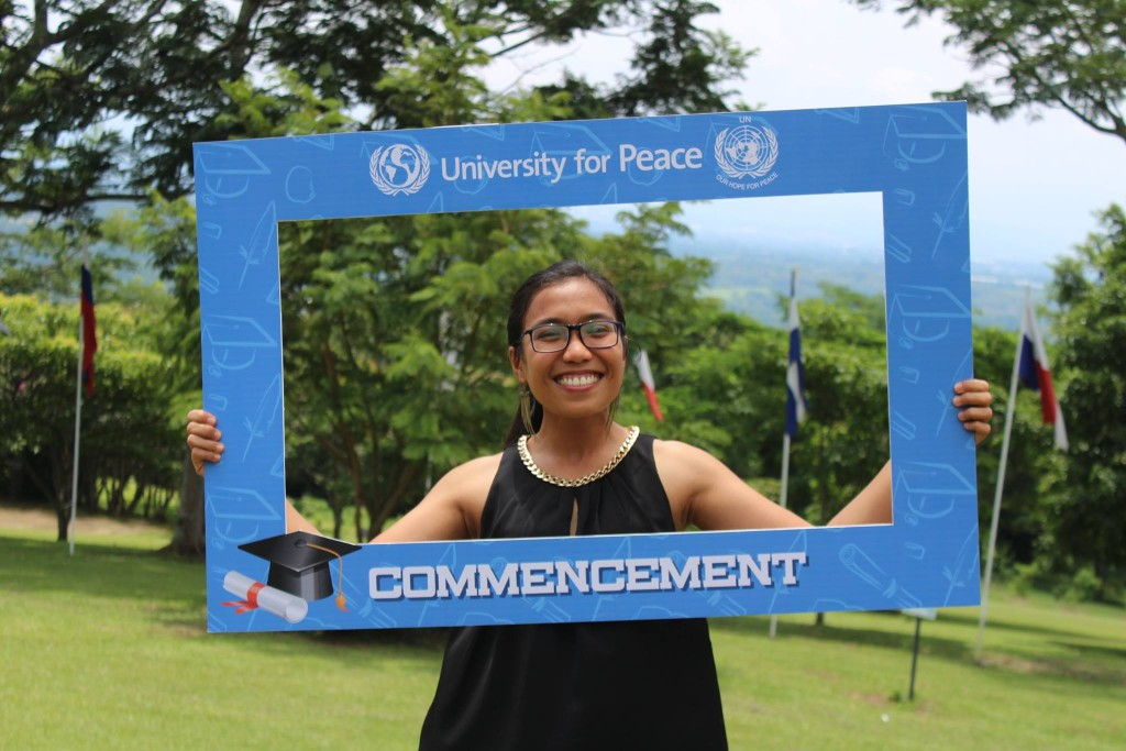 Celebrating graduation at UPEACE
