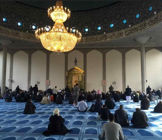 Central London Mosque. (Photo by Rizky Danurwindo)