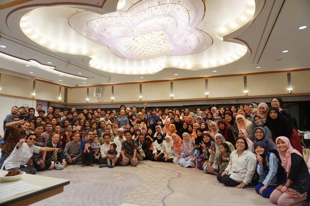 Suasana ifthar akbar KMA 2018