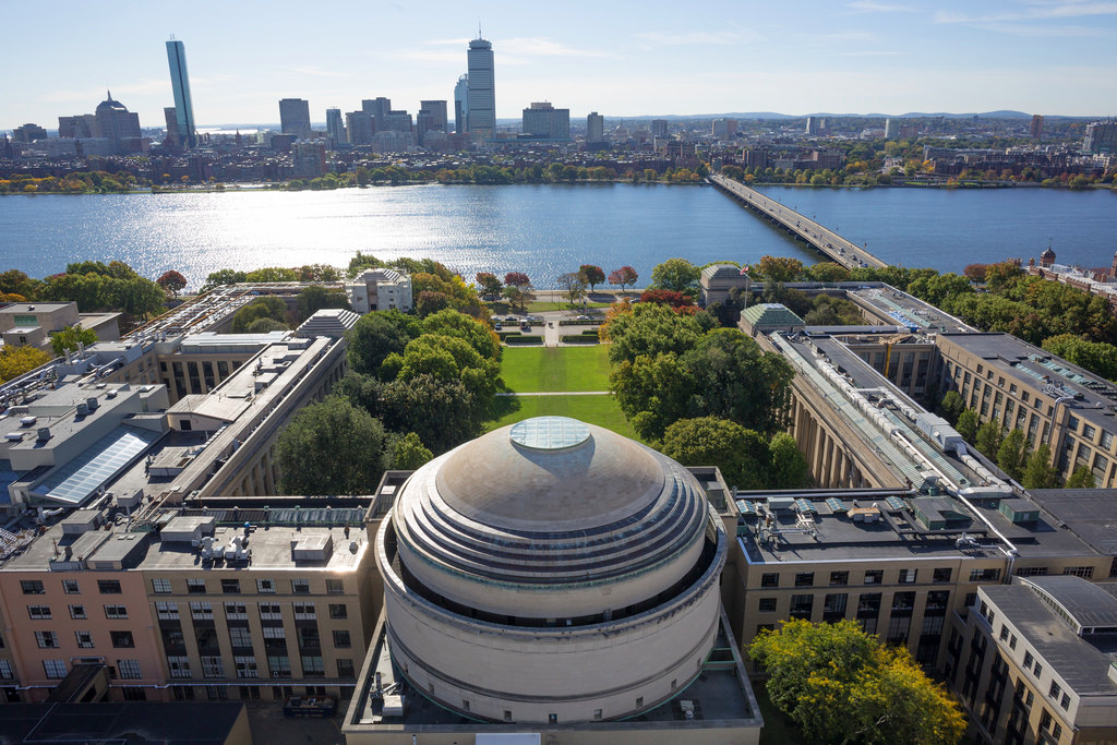 Massachusetts Institute of Technology. Photo by Christopher Harting for MIT News.