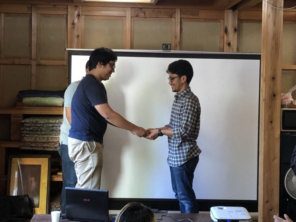 Serah terima jabatan Ketua PPI Kyoto-Shiga 2016/2017 ke 2017/2018