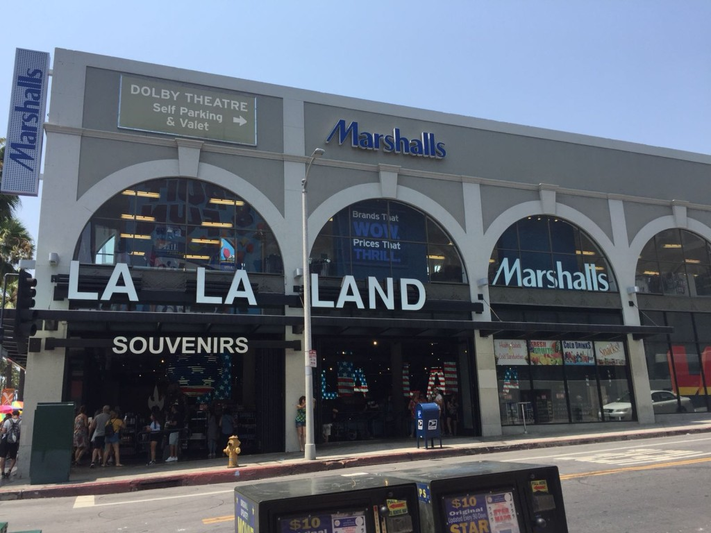 La La Land has its own local store in the Hollywood Highland.
