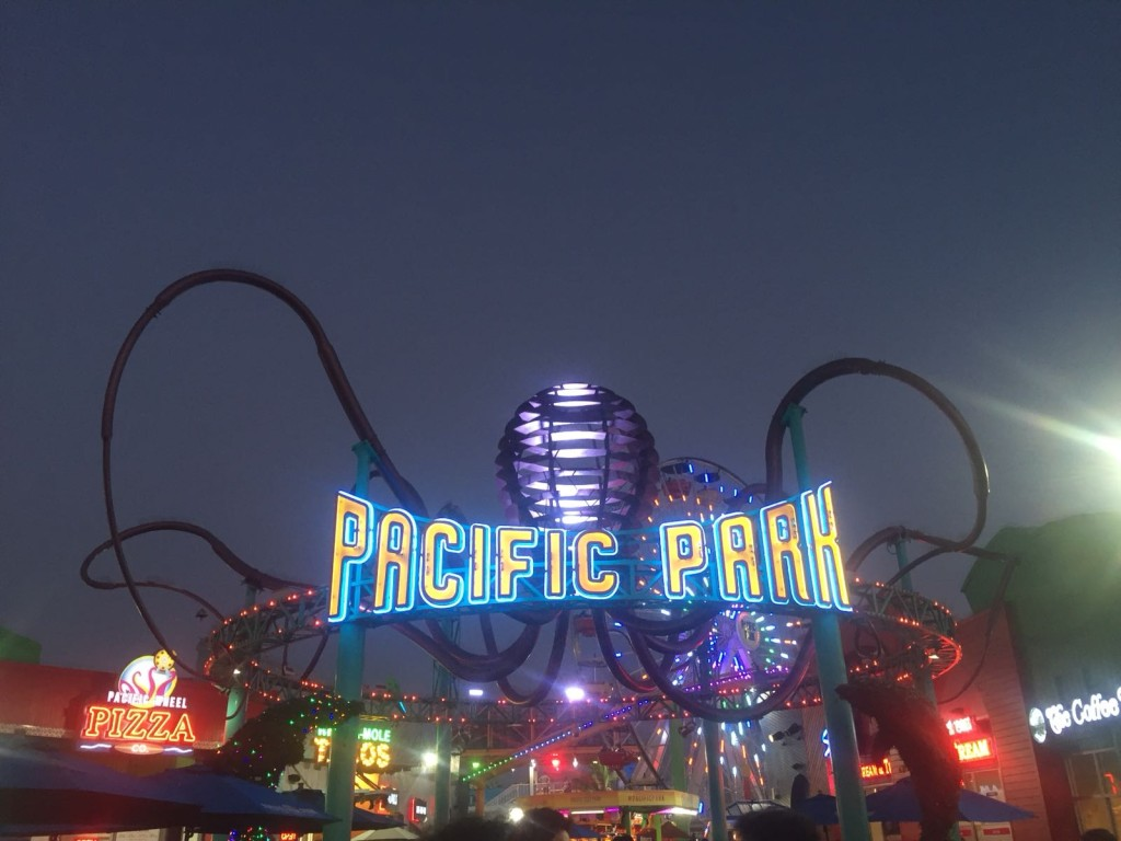 Santa Monica Pier has lots of shops, restaurants, and carnival attractions.