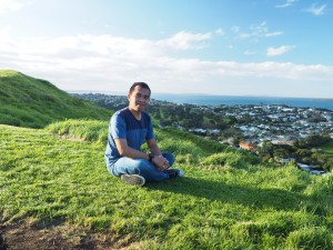 Penulis ketika sedang menjalani studi di Auckland