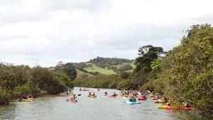 Salah satu kegiatan Canoe Club yang sempat diikuti Muchlis Polin