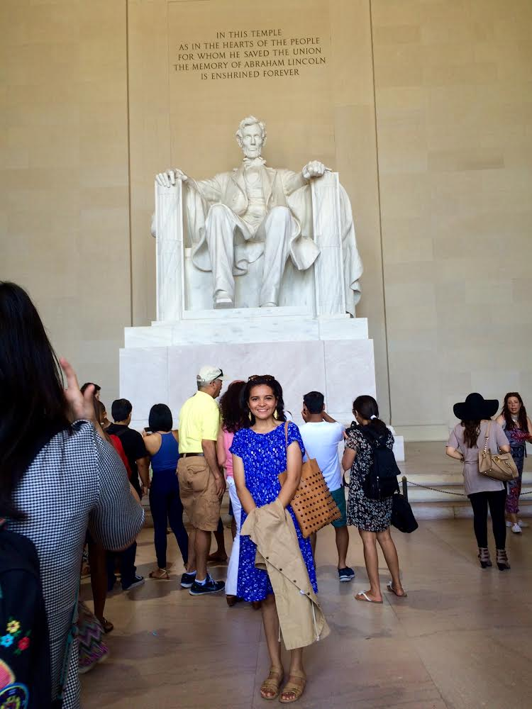 My very first day off. I spent all day visiting some of historical places in Washington DC.