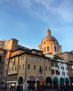 A corner of Mantova. Photo by Author.