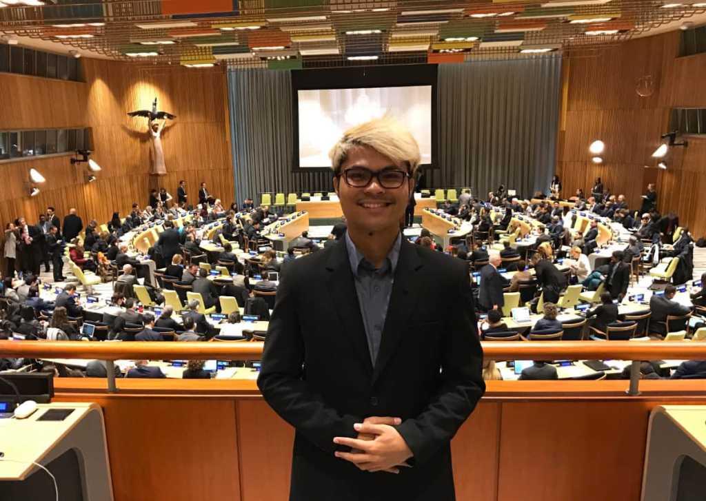 At UN HQ