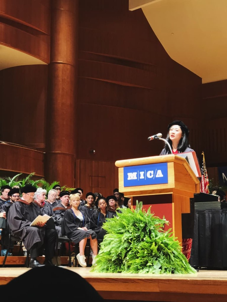 Reyna as Commencement Speaker